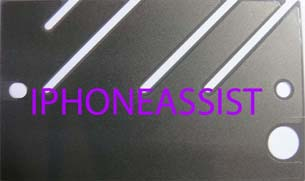 apple iphone 4 middle plate heat dissipation film