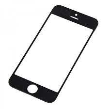 Apple iPhone 5C Glass Lens in black