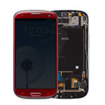 Samsung GT-I9300 Galaxy S3 LCD : Touch Module - Garnet Red - GH97-13630C