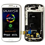 Samsung GT-I9300 Galaxy S3 complete lcd with frame and touchpad -Ceramic White GH97-13630B