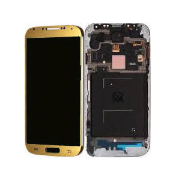 Samsung Galaxy S4 i9500 LCD Frame in Gold 1