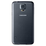 Samsung Galaxy S5 SM-G900F Battery Cover in Black - High Quality