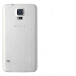 Samsung Galaxy S5 SM-G900F Battery Cover in White - High Quality
