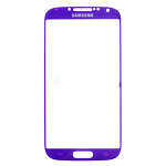 Samsung i9500:i9505 Galaxy S4 Glass Lens with Adhesive in Purple
