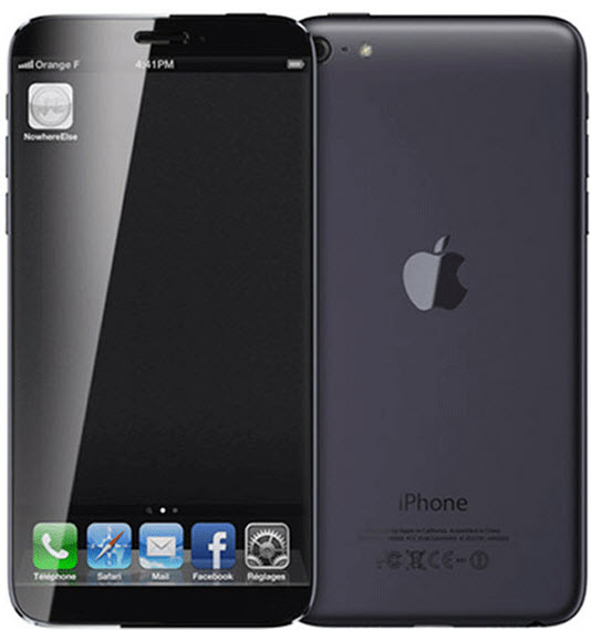 apple phone 6 nero
