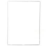 iPad 4 (ipad with retina display) mid frame in white
