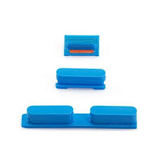 iPhone 5C Side Button Set in Blue (Power Volume and Mute Button )