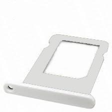 iPhone 5C sim holder white