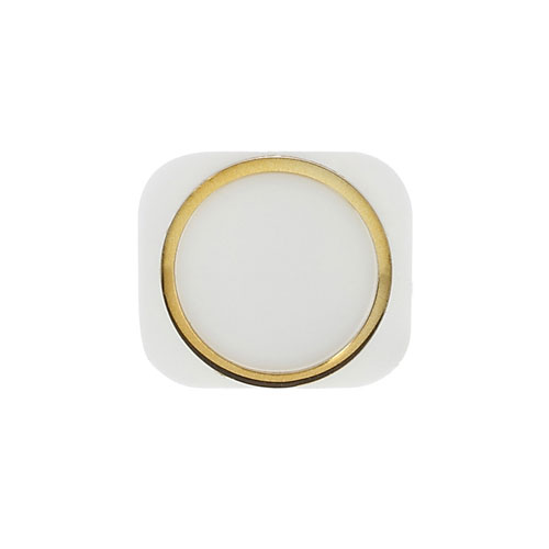 iPhone 6 Plus Home button chrome ring in Gold