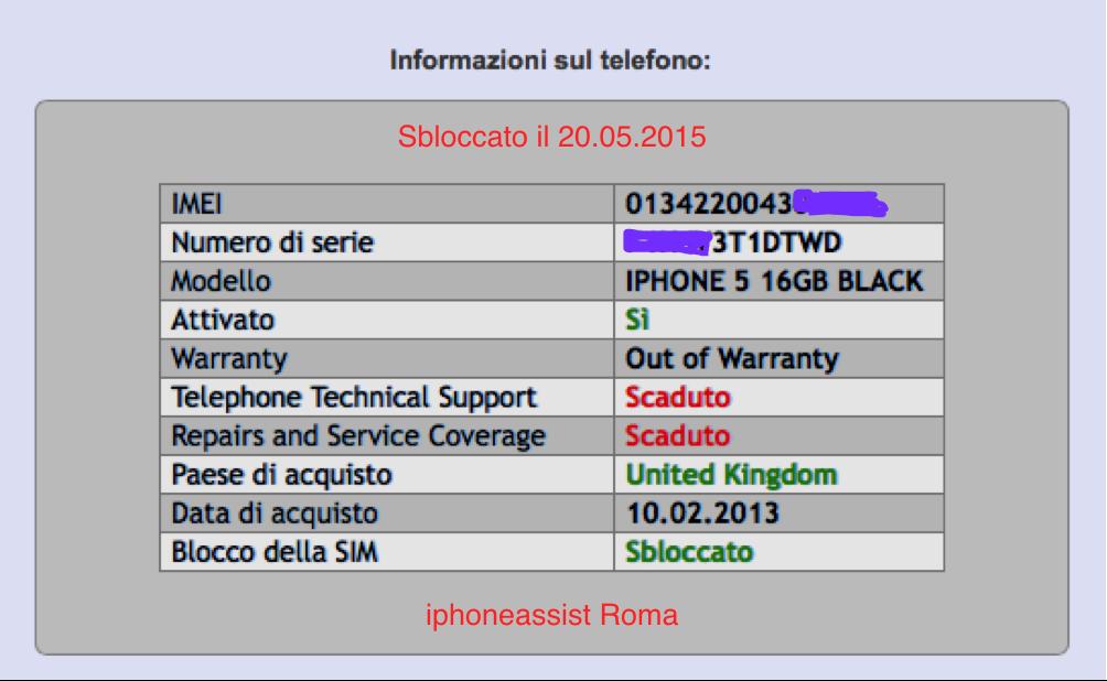 Apple iPhone 5 16GB nero sbloccato 20.05.2015