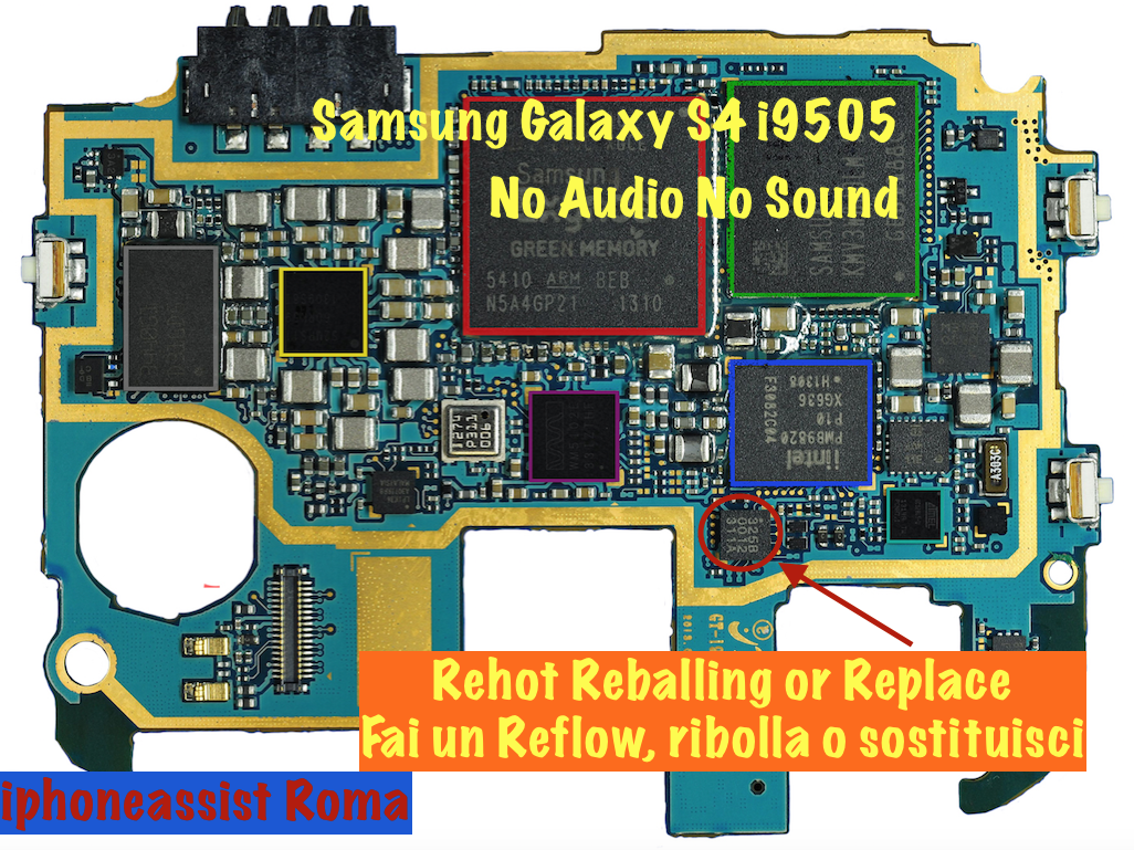 Samsung Galaxy S4 No Audio No Sound