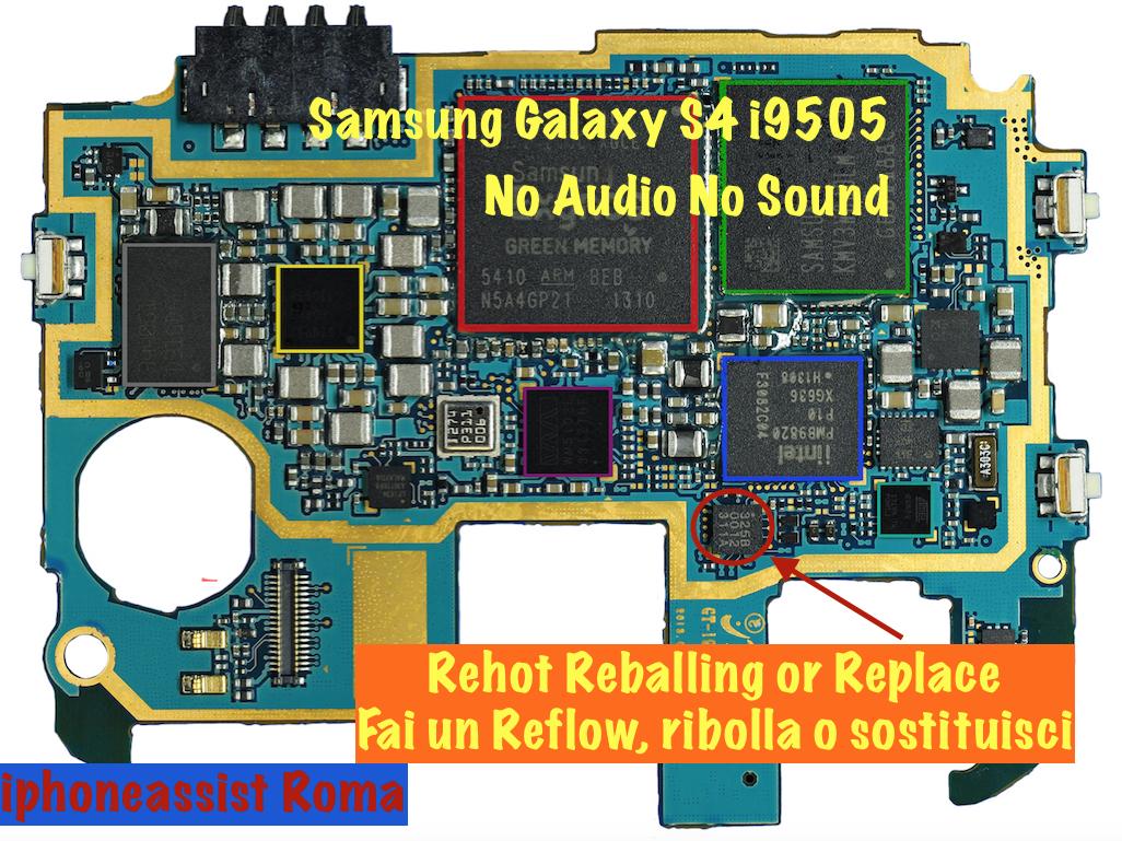 Samsung Galaxy S4 No Audio No Sound